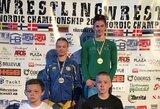 Šiaurės Europos šalių imtynių čempionate – D.Domikaitytės auksas
