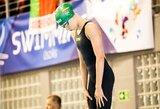 Naujoji Lietuvos plaukimo viltis: K.Teterevkova pagerino rekordą ir su antru rezultatu pateko į finalą