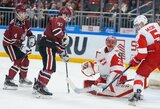 """KHL lygoje – apmaudus Rygos """"Dinamo"""" pralaimėjimas, A.Boso komanda Vokietijoje sutriuškino varžovus"""