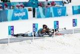 Lietuvos moterų biatlono rinktinė pasaulio taurės lenktynėse atsiliko visu ratu
