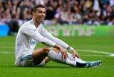 Paskelbtame vertingiausių futbolininkų sąraše C.Ronaldo vos 49-as