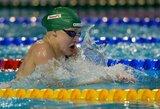 R.Meilutytė užtikrintai pradėjo Europos jaunimo plaukimo čempionatą (visi lietuviai - pusfinaliuose)