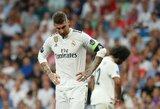 """Įtampa Madride kyla: S.Ramosas """"Real"""" treniruotės metu susikibo su komandos draugu"""