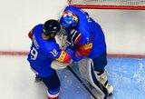 """Korėjiečio """"pokeris"""" patiesė Baltarusijos ledo ritulio rinktinę"""