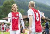 """Oficialu: """"Ajax"""" puolėjas K.Dolbergas keliasi į Prancūziją"""