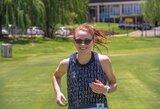 """E.Misiūnaitė: """"Mėgėjai bėgikai dažnai pamiršta, kad neužtenka tik bėgti"""""""