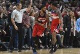 """""""Wizards"""" pergalę nulėmė kontroversiškas metimas"""
