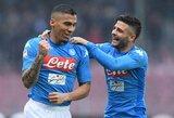 "C.Ancelotti įsitikinęs, kad Allanas paliks ""Napoli"""