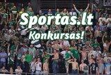 """KONKURSAS: Atspėkite """"Žalgirio"""" – """"Lokomotiv-Kuban"""" rungtynių nugalėtoją ir taškų skirtumą bei laimėkite prizus! (nugalėtojai)"""
