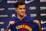 "P.Coutinho kaina: ""Barcelona"" uždrausta pirkti ""Liverpool"" futbolininkus"