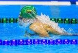 Lietuviai paskutinę varžybų Monake dieną nepateko į A finalus, J.Jefimova iškovojo tris aukso medalius