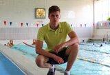 D.Rapšys plaukimo varžybose Belgijoje su geriausiu laiku pateko į finalą