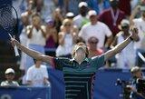 A.Zverevas triumfavo trečiame turnyre šiais metais