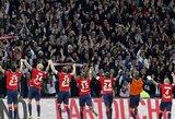 """""""Lille"""" įveikė """"Monaco"""" ir aplenkė juos turnyrinėje lentelėje"""