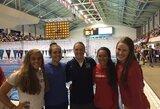 JAV plaukimo čempionate U.Mažutaitytė pagerino du Lietuvos rekordus