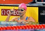 Pasaulio plaukimo taurės etape Eindhovene – įtempta J.Jefimovos ir A.Atkinson dvikova bei V.Morozovo pasaulio rekordas