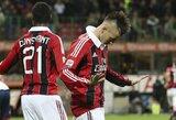 """Jubiliato įvartis nutraukė """"Milan"""" pergalių badą"""