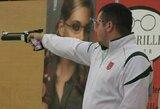 Europos šaudymo sporto čempionate lietuviai nepateko tarp lyderių