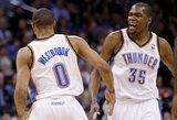 Gražiausias NBA epizodas - dvi tolimos K.Duranto bombos lemiamomis rungtynių akimirkomis