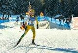 G.Leščinskaitė Europos jaunimo biatlono čempionate – 25-a