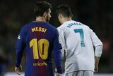 """L.Messi apie nuolatinę konkurenciją su C.Ronaldo: """"To žmonės niekada nepamirš"""""""