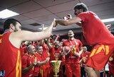 Pamatykite: džiaugsmo akimirkos Pasaulio taurės čempionų rūbinėje