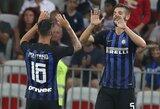 """Inter"" minimaliu rezultatu įveikė ""Olympique"""