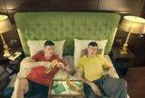 Smagioje reklamoje broliai Lavrinovičiai kalba apie sunkius laikus