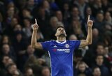 """D.Costa neįtrauktas į """"Chelsea"""" sudėtį Čempionų lygos kovoms"""
