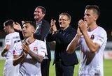 Po dramatiškos pergalės V.Dambrausko ekipa Kroatijoje pakilo į pirmą vietą