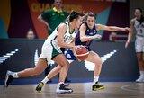 Paskelbtas išplėstinis Lietuvos moterų krepšinio rinktinės kandidačių sąrašas
