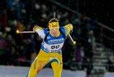 K.Dombrovskis ilgiausiose pasaulio biatlono čempionato lenktynėse šaudė nepriekaištingai