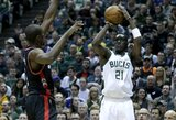 """""""Bucks"""" ir """"Pistons"""" atliko mainus"""
