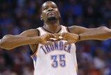 """Blykstelėjęs K.Durantas – dar vienos """"Thunder"""" pergalės kalvis"""