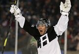 """NHL rungtynėse po atviru dangumi – fantastiškas T.Toffoli pasirodymas ir """"Kings"""" pergalė"""