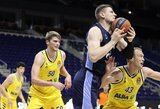 """A.Gudaitis taškus rinko baudos metimais ir buvo vienas rezultatyviausių pergalę iškovojusioje """"Zenit"""" komandoje"""
