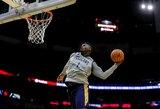 """""""Pelicans"""" treniruotę susirinko pamatyti daugiau nei 10 tūkst. gerbėjų"""