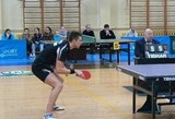 """T.Mikučiui nepavyko iškovoti pergalių pagrindiniame """"World Tour"""" serijos stalo teniso turnyro Belgijoje etape"""