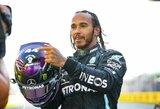 """Pamirškite """"Ferrari"""": L.Hamiltonas ir """"Mercedes"""" artėja prie 132 mln. eurų vertės susitarimo"""