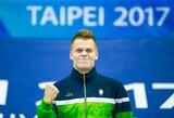 Neįtikėtina: D.Rapšys daugiau nei šešiomis sekundėmis pagerino Lietuvos rekordą