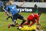 """Teisėjas išvijo M.Reusą, o """"Hoffenheim"""" pratęsė įspūdingą žygį"""