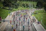 Vilniuje pastebėtas staigus dviratininkų suaktyvėjimas