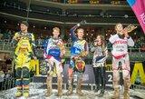 """""""Arenacross Baltic Cup"""" varžybose Rygoje prizines vietas išsidalino lietuviai ir latviai"""