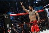 """Galimybės pereiti į UFC neatmetantis A.Jemeljanenka: """"Man nėra skirtumo, ką daužyti – galiu ir robotus"""""""