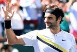 Gyva legenda: Indian Velse į finalą patekęs R.Federeris sezoną pradėjo geriausiai per savo karjerą