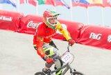 Dviratininkė V.Rimšaitė Europos BMX taurės etape Olandijoje – aštunta