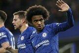 """Akibrokštas: brazilas atsisakė pratęsti sutartį su """"Chelsea"""""""