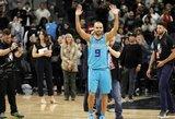 Legendinis Prancūzijos krepšininkas T.Parkeris paskelbė apie karjeros pabaigą