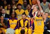 """""""Lakers"""" pergalė apkartino R.Rondo sugrįžimą"""