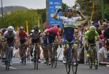 G.Bagdonas pirmajame pasaulio plento dviračių turo lenktynių Australijoje etape buvo komandos lyderiu